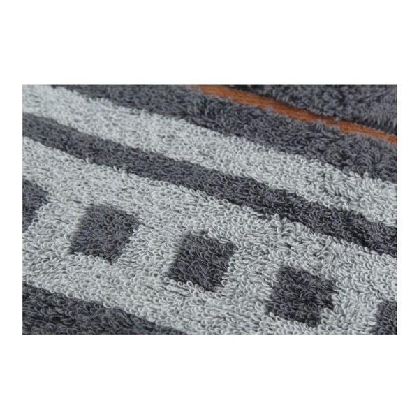 Set 2 osušiek Dark, 70x140 cm