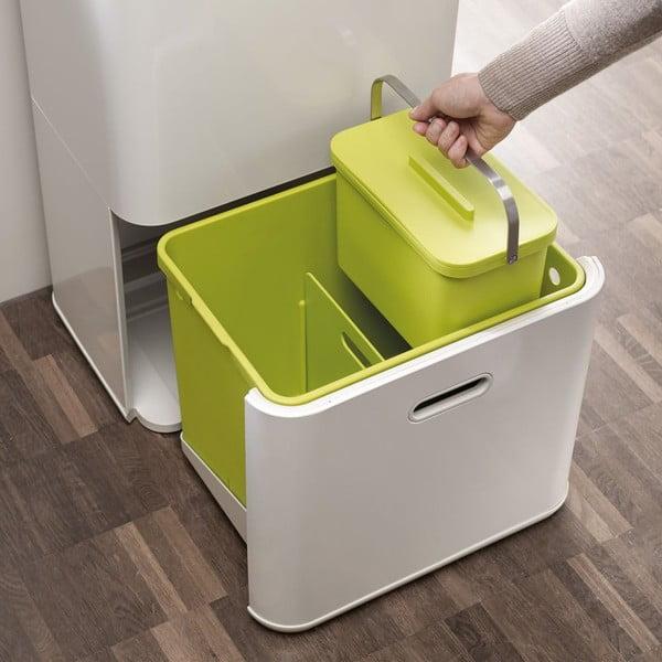 Nádobka na kompostovateľný odpad IntelligentWaste Totem, zelená