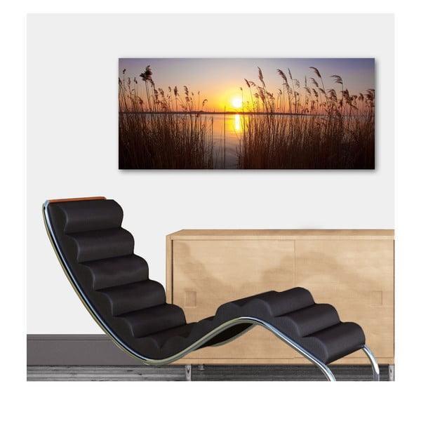 Dekoratívny nástenný panel Západ slnka, 115x50 cm