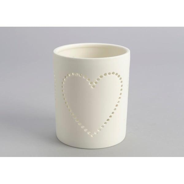 Stojan na sviečku Heart Candle Jar