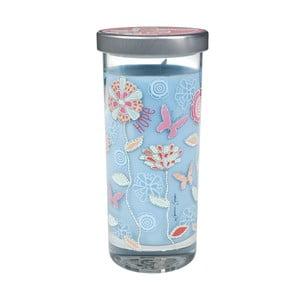 Vonná sviečka Glass Bridgewater Candle, vôňa čistej bielizne