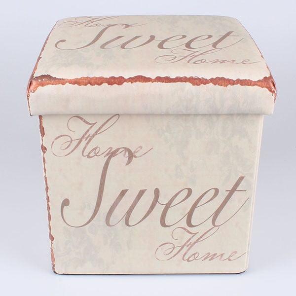 Taburetka na sedenie s úložným priestorom Sweet