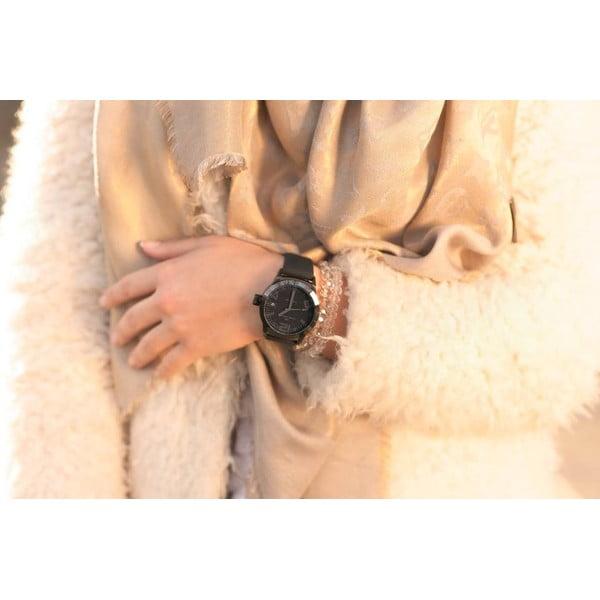 Unisex hodinky Marc Coblen s remienkom a krúžkom na ciferník naviac P54