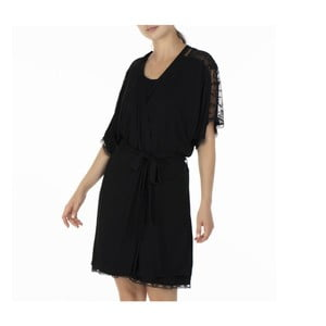 Čierne dámské kimono Bella Maison Alberta, vel. S