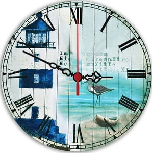 Nástenné hodiny Seaside, 30 cm