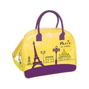 Žltá cestovná taška Incidence  Paris