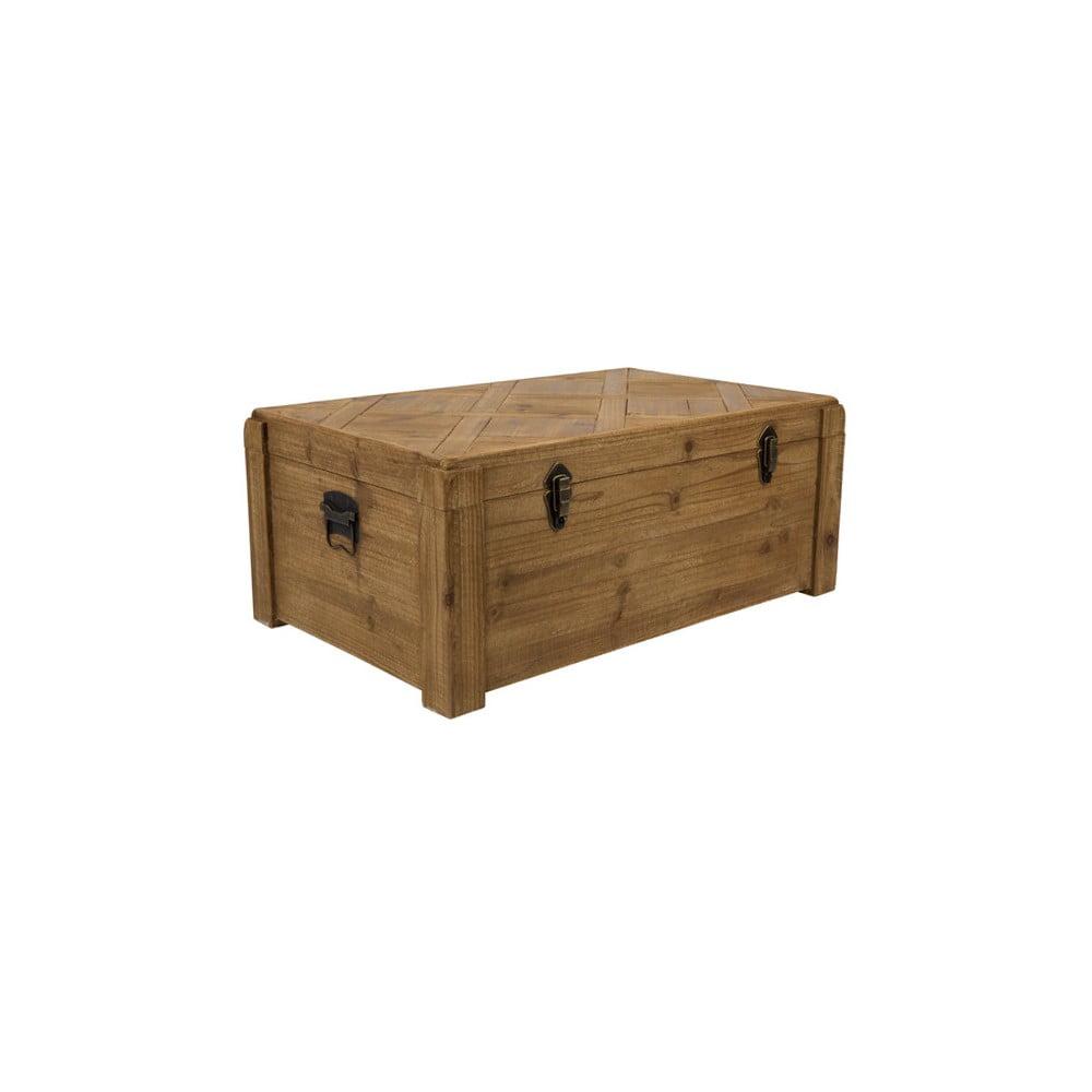 Dreven truhlice na hraky a in veci drevko