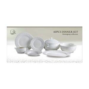 40-dielny set porcelánového riadu Duo Gift Charisma
