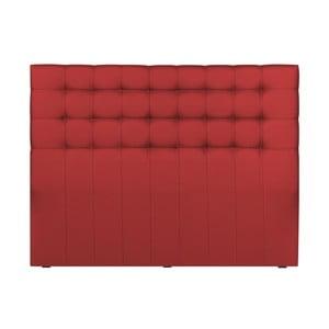Červené čelo postele Palaces de France Belcourt, 200 x 120 cm