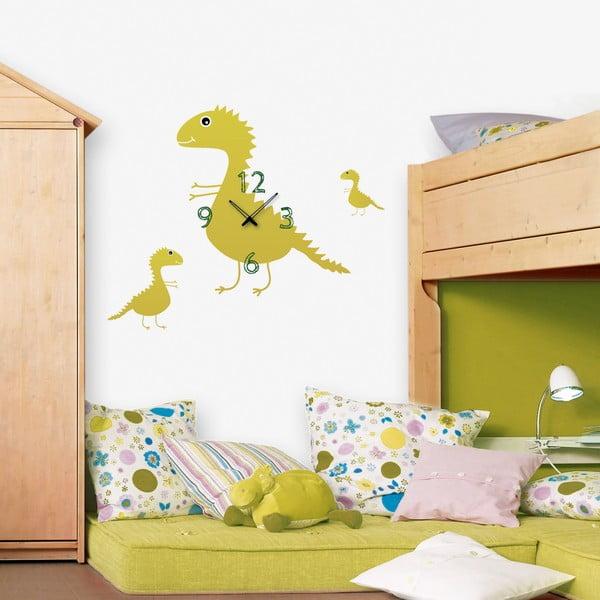 Samolepiace hodiny Dinosauri
