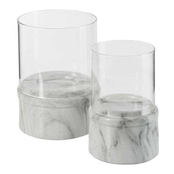 Svietnik Marble Grey