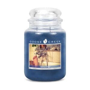 Vonná sviečka Goose Creek Čas na kúpeľ, 150hodínhorenia