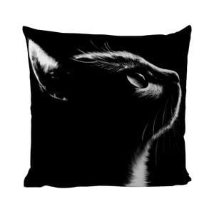 Vankúš Black Shake Black Cat, 50x50 cm