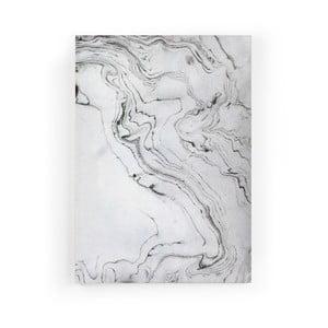 Obraz zo zamatového plátna Velvet Atelier Marble, 50×70 cm
