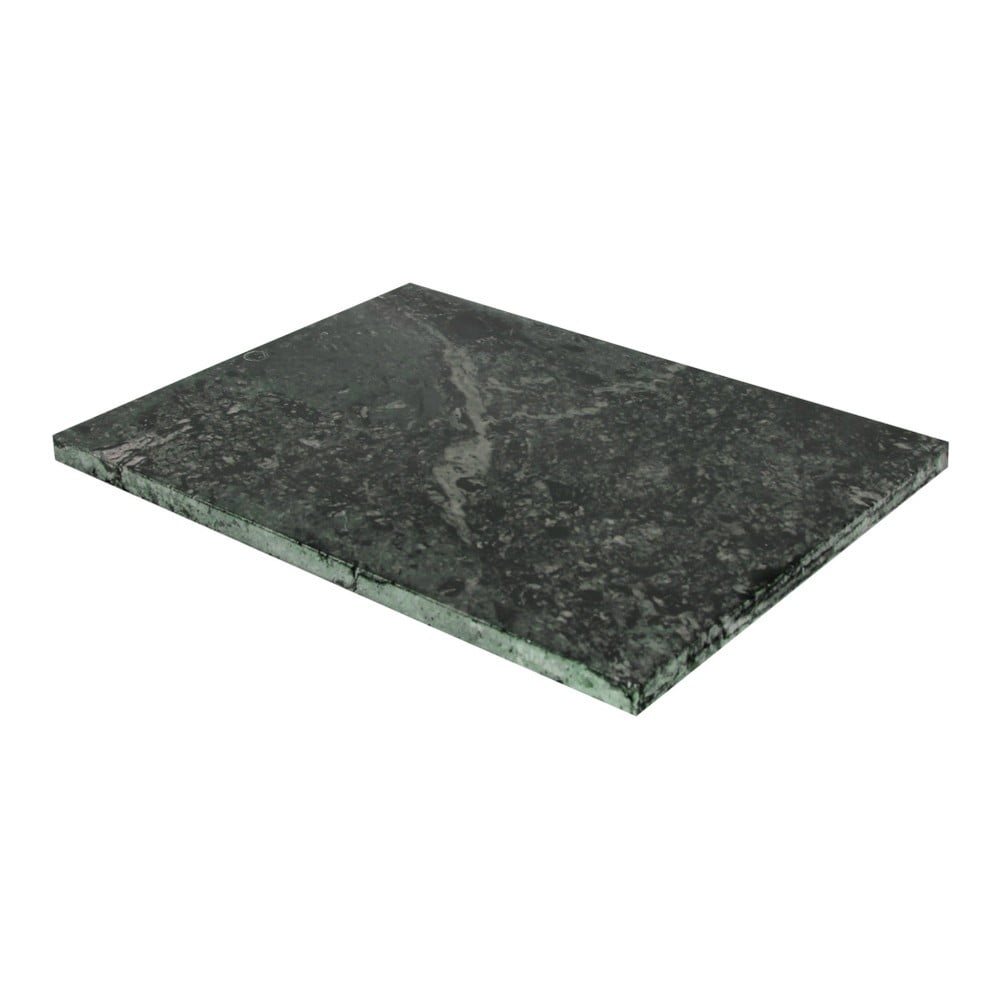 Zelená doštička na krájanie z mramoru Strömshaga, 30 × 40 cm