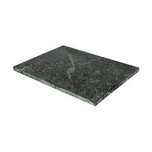 Zelená doštička na krájanie z mramoru Strömshaga, 30×40 cm