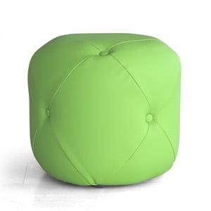 Sedací puf Cubis, zelený