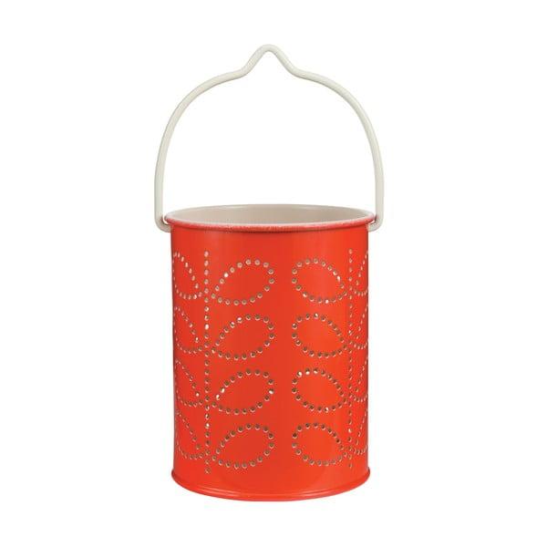 Oranžový závesný lampáš Orla Kiely Warm Red