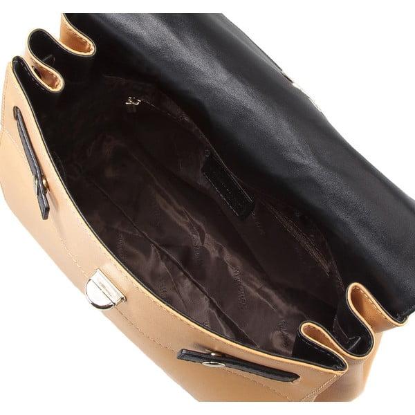Kožená kabelka/batôžtek Elegance Yellow
