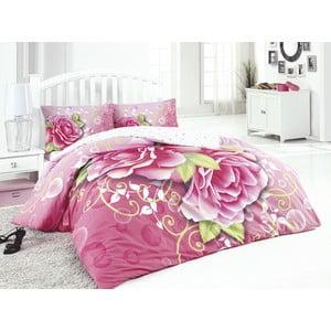 Obliečky s plachtou Pink Rose, 200x220 cm