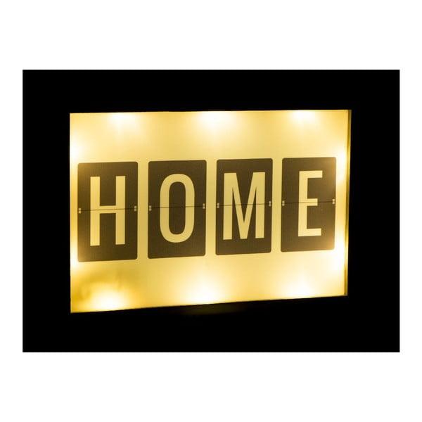 Svietiaca LED dekorácia Fisura Home