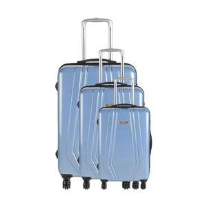 Set 3 cestovných kufrov Majestik Sky