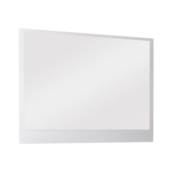 Nástenné zrkadlo Outfit, biele
