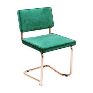 Zelená stolička Kare Design Cantilever