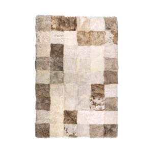 Kožušinový pléd Cubes, 180 x 120 cm