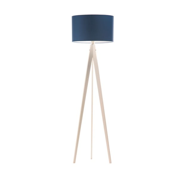 Stojacia lampa Artist Dark Blue/White, 150x42 cm