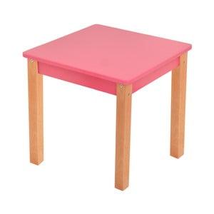 Ružový detský stolík Mobi furniture Mario