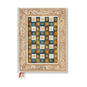 Diár na rok 2019 Paperblanks Aureo, 18 x 23 cm