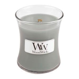 Vonná sviečka WoodWick v oválnej váze  Fog