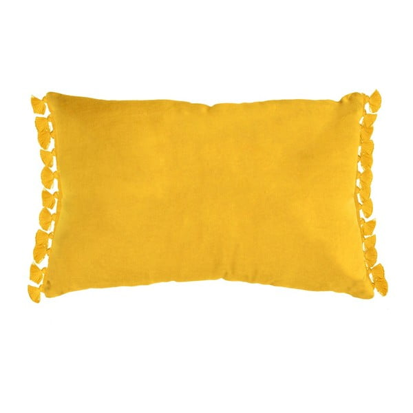 Žltý vankúš Ragged Rose Tassie