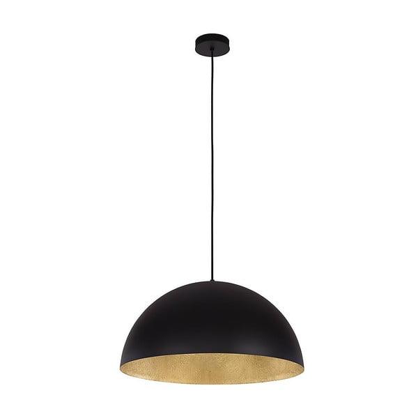 Čierne závesné svetlo BRITOP Lighting Tuba S