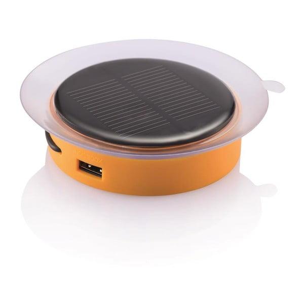 Oranžová solárna nabíjačka na cesty XDDesign Port