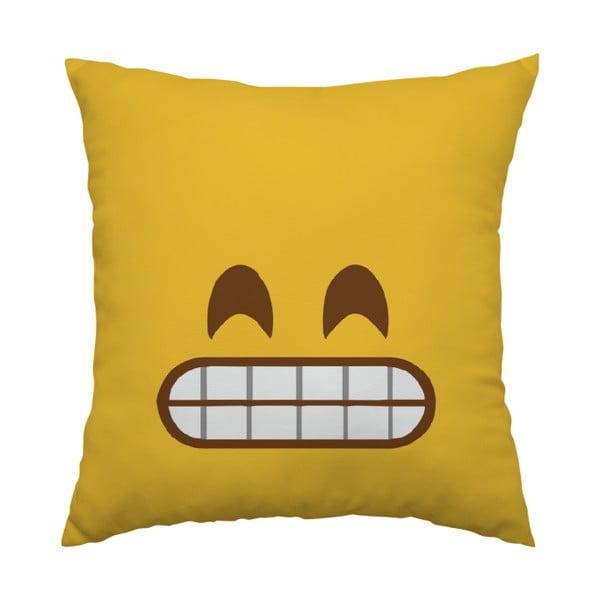 Vankúš Emoji Grrr, 40x40 cm