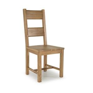 Jedálenská stolička z dubového dreva VIDA Living Breeze Ria