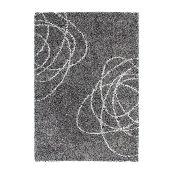Koberec Moonwalk Silver, 170x120 cm