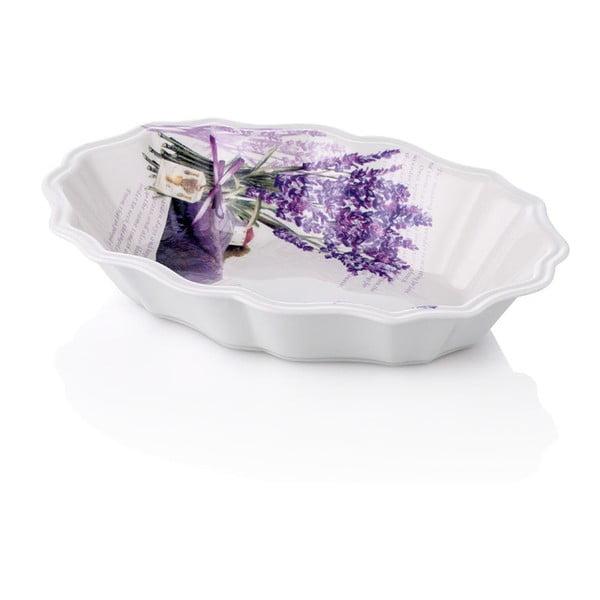 Porcelánový hlboký tanier Levanduľa, 24 cm