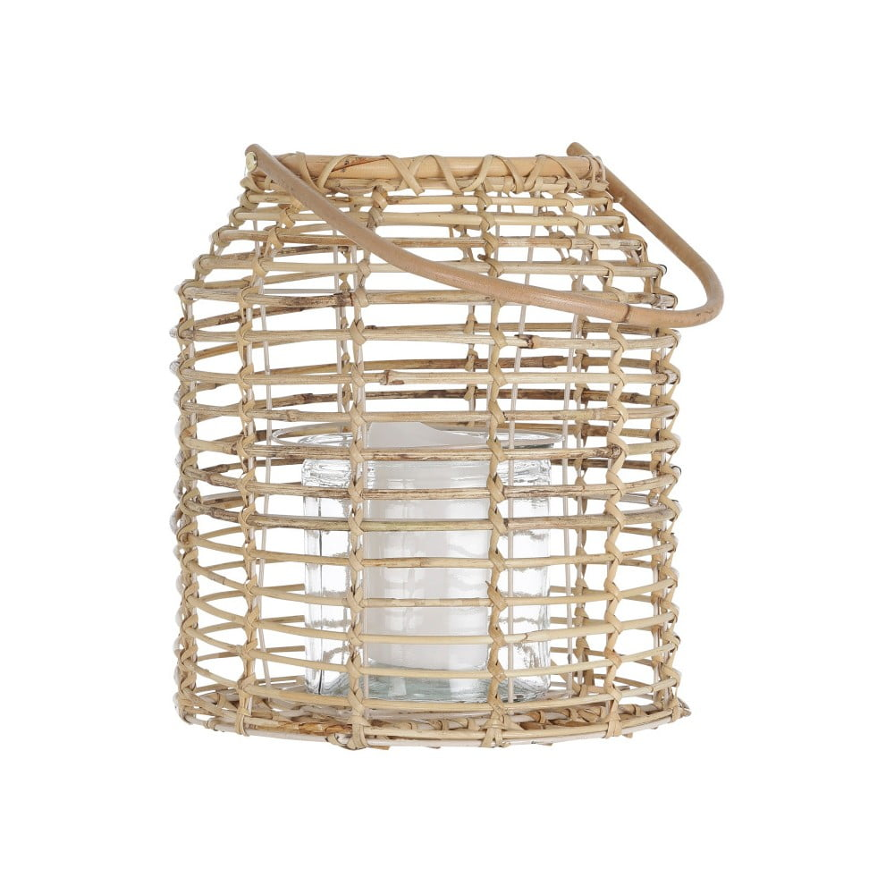 Ratanový lampáš A Simle Mess Aals, ⌀ 23 cm