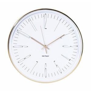 Nástenné hodiny Salt&Pepper Metallic Zone, 38cm