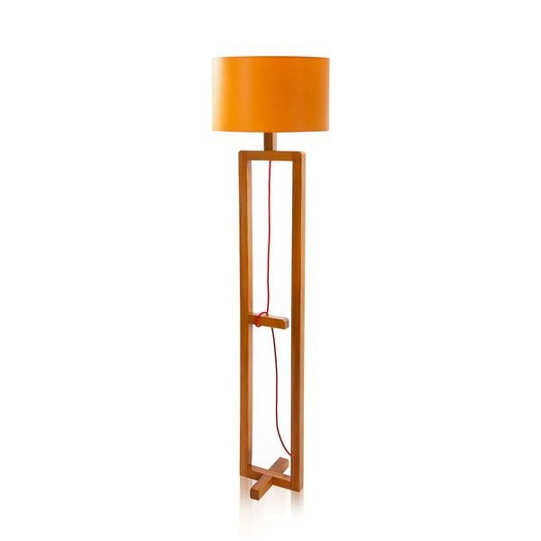 Stojacia lampa Dal Orange Walnut