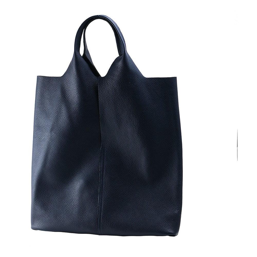 Modrá kabelka z pravej kože Andrea Cardone 98f7fc8e4bd