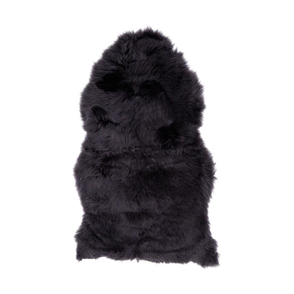 Čierna ovčia kožušina Premier Housewares bosí