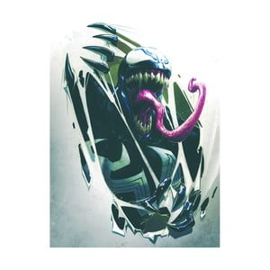 Obraz Pyramid International Venom Tearing Through, 60 × 80 cm