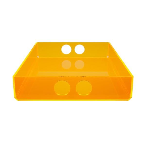 Podnos Tray Orange, 30x41 cm