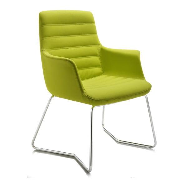Limetková kancelárska stolička Zago Vetta