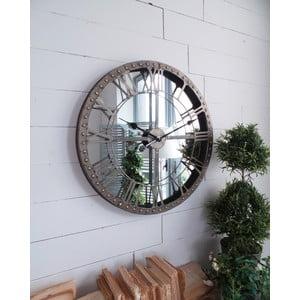 Nástenné hodiny Industrial Mirror, 60 cm