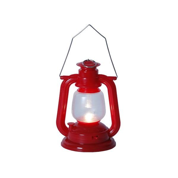 Červený LED lampáš Best Season Sailor